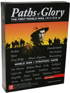 Paths of Glory War Game