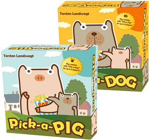 Pick-a-Pig and Pick-a-Dog