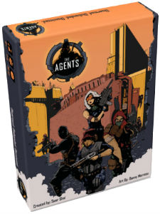The Agents Card Game