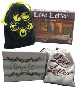 Love Letter Wedding and L5R Edition Reviews | play board games