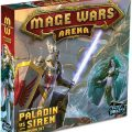 Mage Wars Arena Paladin vs Siren