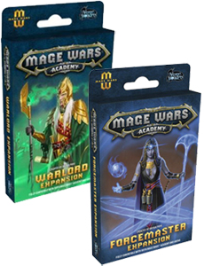 Mage Wars Academy Warlord Forcemaster