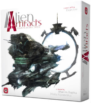 Alien Artifacts Board Game